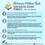 Buku Pertama, Sebaiknya Menulis tentang Apa?