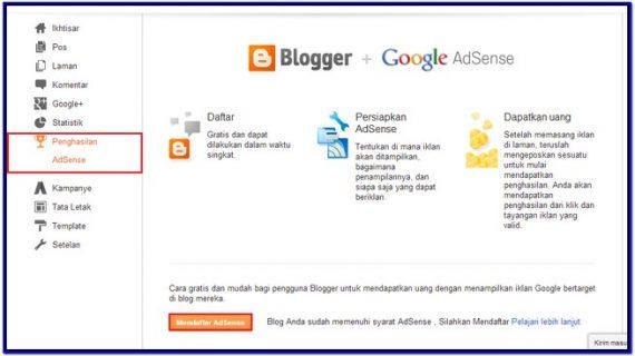 Sumber Penghasilan Blogger di Indonesia