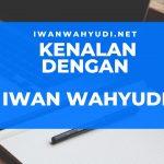 Sekilas tentang Iwan Wahyudi Net